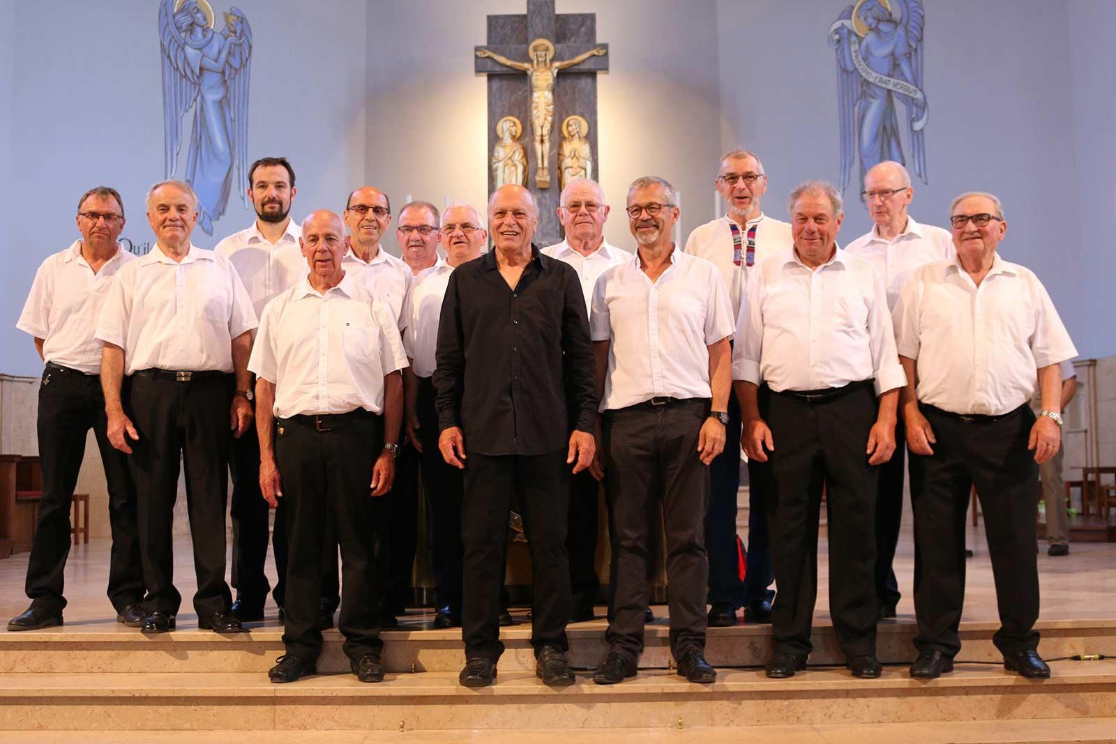 Concert de l'Avent Choeur d'hommes Concordia 1876, Niederbronn-les-Bains