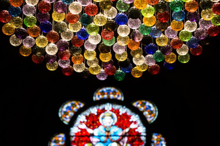 Boules de Meisenthal - Noël