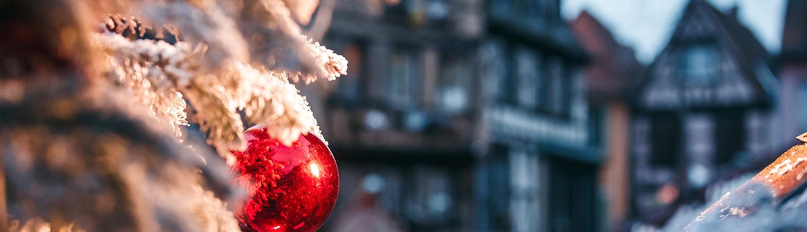 Décor de Noël à Colmar