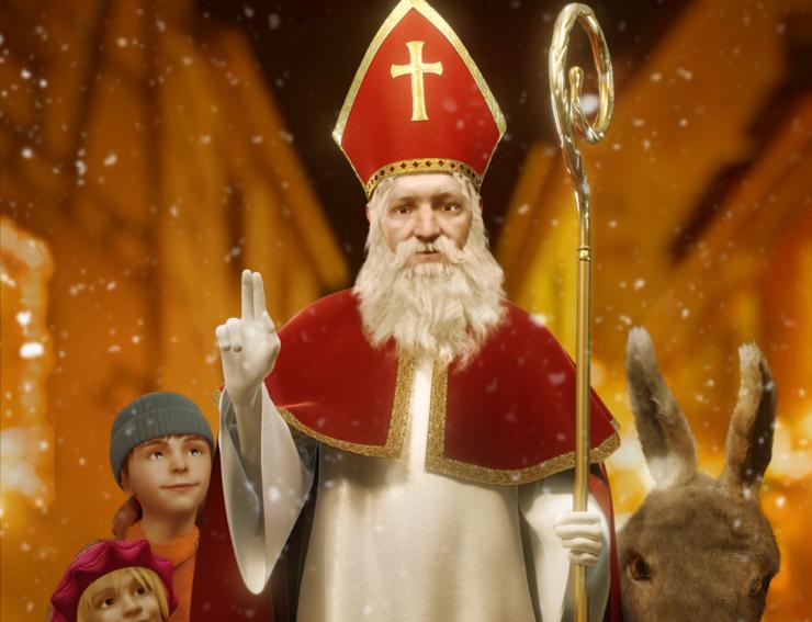 Saint Nicolas - Noël en Alsace