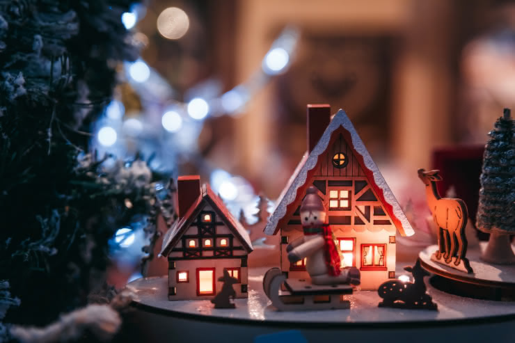 Décoration bois Noël