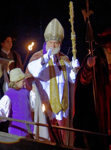Arrivée du Saint Nicolas