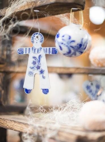 Décorations de Noël en poterie de Betschdorf