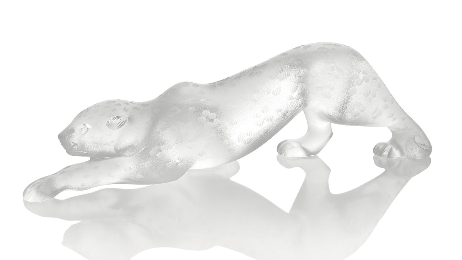 Panthère Zeila translucide - Lalique