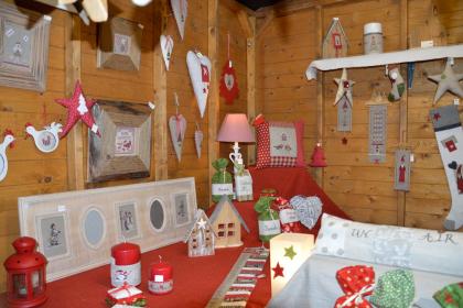 Artisanat authentique au marché de Noël, Niederbronn-les-Bains
