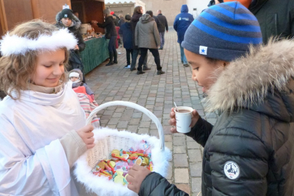 Les bonbons de Kristkindel ; copyright: Ville de Brumath
